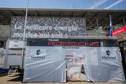 IMSA Performance Matmut paddock area