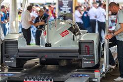 #0 Nissan Motorsports Global Nissan Zeod RC in scrutineering tent