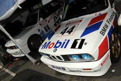 A pair of BMW M3s