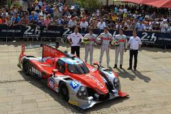 #46 Thiriet By TDS Racing Ligier JS P2 - Nissan: Pierre Thiriet, Ludovic Badey, Tristan Gommendy