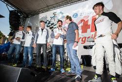 Richard Göransson, Christian Hohenadel, Michael Zehe, Klaus Graf and Jan Seyffarth