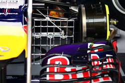 Red Bull Racing RB10 front wing with sensor equipment