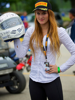 Pirelli World Challenge promotional girl