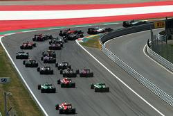 F1: Start of the race