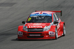 WTCC: James Thompson, LADA Granta 1.6T, LADA Sport Lukoil