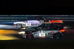 #188 MSC Konz e.V.i. ADAC BMW B46 L: Alexander Herrmann, Achim Herrmann, #94 Mathol Racing Aston Martin Vantage V8 GT4: Wolfgang Weber, Norbert Bermes