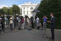 Jimmie Johnson visits President Barack Obama at the White House