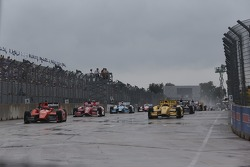 INDYCAR: Start action
