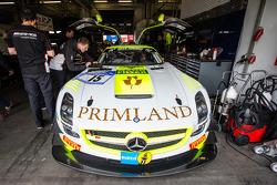 #15 HTP Motorsport Mercedes-Benz SLS AMG GT3