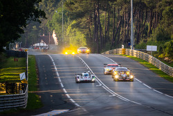 #1 Audi Sport Team Joest Audi R18 E-Tron Quattro: Lucas Di Grassi, Marc Gene, Tom Kristensen, #26 G-Drive Racing Morgan - Nissan: Roman Rusinov, Olivier Pla, Julien Canal
