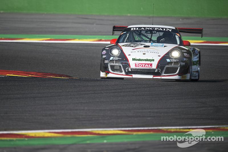 #150 Wochenspiegel Team Manthey Porsche 997 GT3 R: Georg Weiss, Oliver Kainz, Jochen Krumbach, Christian Menzel