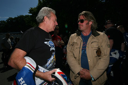 Wayne Gardner and Charley Boorman