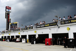 Daytona Beach, FL - Jul 03, 2014:  The NASCAR Sprint Cup Series teams take to the track to practice for the