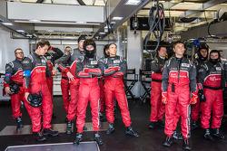 Audi Sport Team Joest team reaction after the crash of Loic Duval