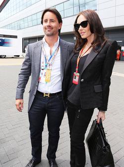 Tamara Ecclestone, with husband Jay Rutland (GBR)