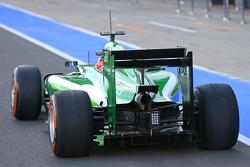 F1: Will Stevens, Caterham CT05 Test Driver
