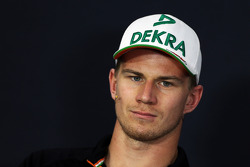 F1: Nico Hulkenberg, Sahara Force India F1 in the FIA Press Conference