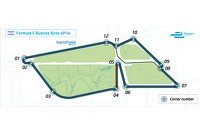 Buenos Aires ePrix layout
