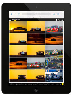 GENERAL: Preview of the Motorsport.com Generation 5 website