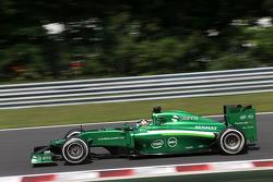F1: Kamui Kobayashi, Caterham F1 Team