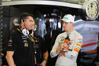 Bradley Joyce, Sahara Force India F1 Race Engineer with Nico Hulkenberg, Sahara Force India F1
