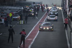 #4 Belgian Audi Club Team WRT Audi R8 LMS ultra: Jean-Luc Blanchemain, Fred Bouvy, Christian Kelders, Vincent Radermecker