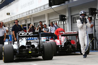 Valtteri Bottas, Williams in parc ferme