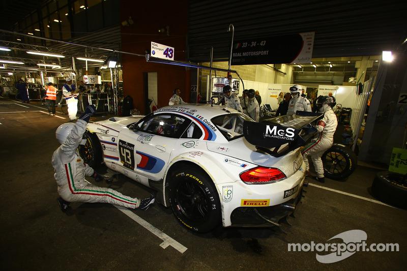 #43 ROAL Motorsport BMW Z4: Stefano Comandini, Eugenio Amos, Michela Cerruti, Stefano Colombo