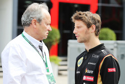 F1: Romain Grosjean, Lotus F1 Team.