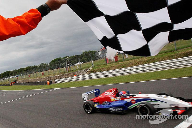 Pietro Fittipaldi takes the win