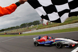 Pietro Fittipaldi takes the win