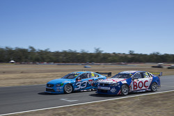Scott McLaughlin, Polestar Racing Volvo S60 and Jason Bright, BOC Racing