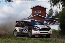 Jari Ketomaa and Kaj Lindstrom, Ford Fiesta R5