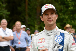 Second place Sébastien Ogier