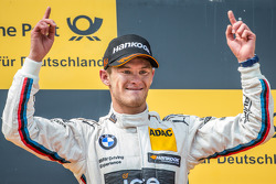 Podium: race winner Marco Wittmann, BMW Team RMG BMW M4 DTM celebrates