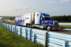Hauler of Brian Vickers, Michael Waltrip Racing Toyota