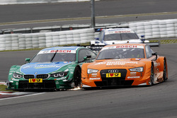 Augusto Farfus, BMW Team RBM BMW M34 DTM and Jamie Green, Audi Sport Team Abt Sportsline Audi RS 5 DTM