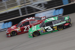 Alex Bowman, Toyota and Austin Dillon, Richard Childress Racing Chevrolet