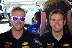 Geoff Reeves (left) and Andy Lee (right) from BestIT racing