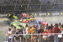 Trouble for Clint Bowyer, Aric Almirola and Kyle Busch