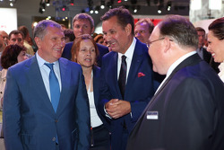 Igor Sechin (left) and Bo Andersson (right)