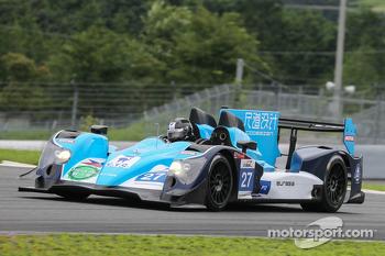 #27 Eurasia Motorsport Oreca-Nissan: Jun Jin Pu, John Hartshorne, Richard Bradley