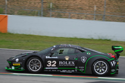 #32 Kessel Racing Ferrari 458 Italia GT3: Jonathan Sicart, Nicola Cadei, Giacomo Piccini, Frederic Delpit, Dimitri Enjalbert