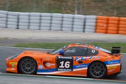 #16 Nova Race Ginetta G50 GT4: Luca Magnoni, Luis Scarpaccio, Fabio Ghizzi, Matteo Cressoni, Salvador Arroyo