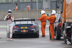 Out of the race, Mattias Ekström, Audi Sport Team Abt Sportsline, Audi A5 DTM