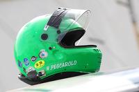 Henri Pescarolo's helmet