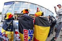 Belgian fans
