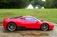 Ferrari 458 Italia Speciale test drive