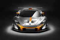 The McLaren P1 GTR continues testing