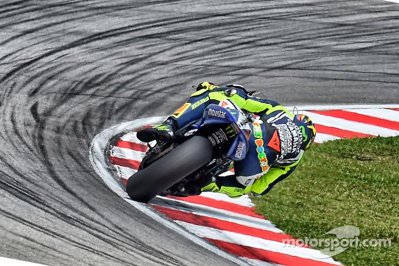 Valentino Rossi, Yamaha at Malaysian GP